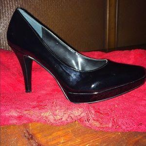 "Nine West 4"" platform heels"